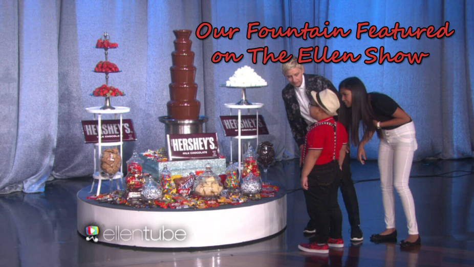 chocolate fountain rental featuring Ellen